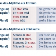 Hueber Grammatik Schwedisch innen