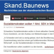 Screenshot Skand.Baunews
