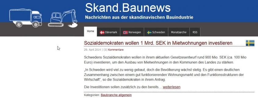 Screenshot Skand.Baunews