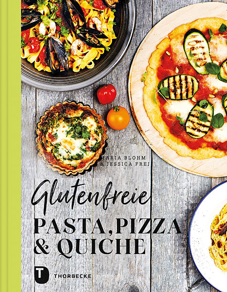 Cover Glutenfreie Pasta, Pizza, Quiche