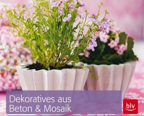 Cover Dekoratives aus Beton und Mosaik
