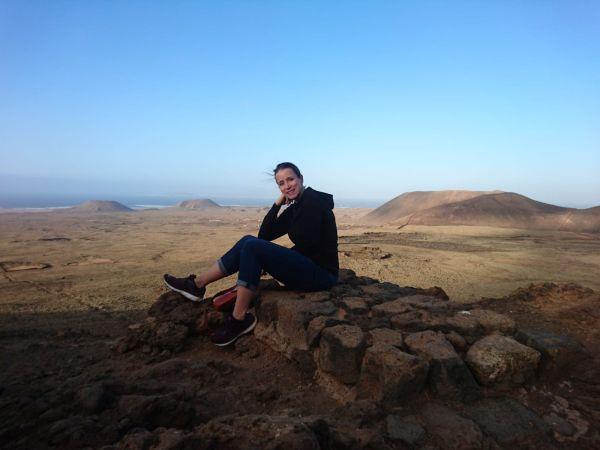 porträt von mir auf Fuerteventura
